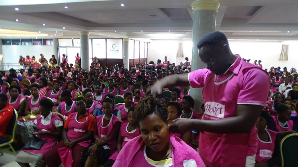 Movit had a 3 day training seminar for salon owners and attendants