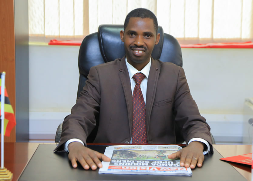 Bruce Mpamizo Marketer, Salesman  Sales and Marketing Director