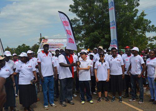 MPL CONTRIBUTES UGX 30M TO IRENE GLEESON CHARITY WALK